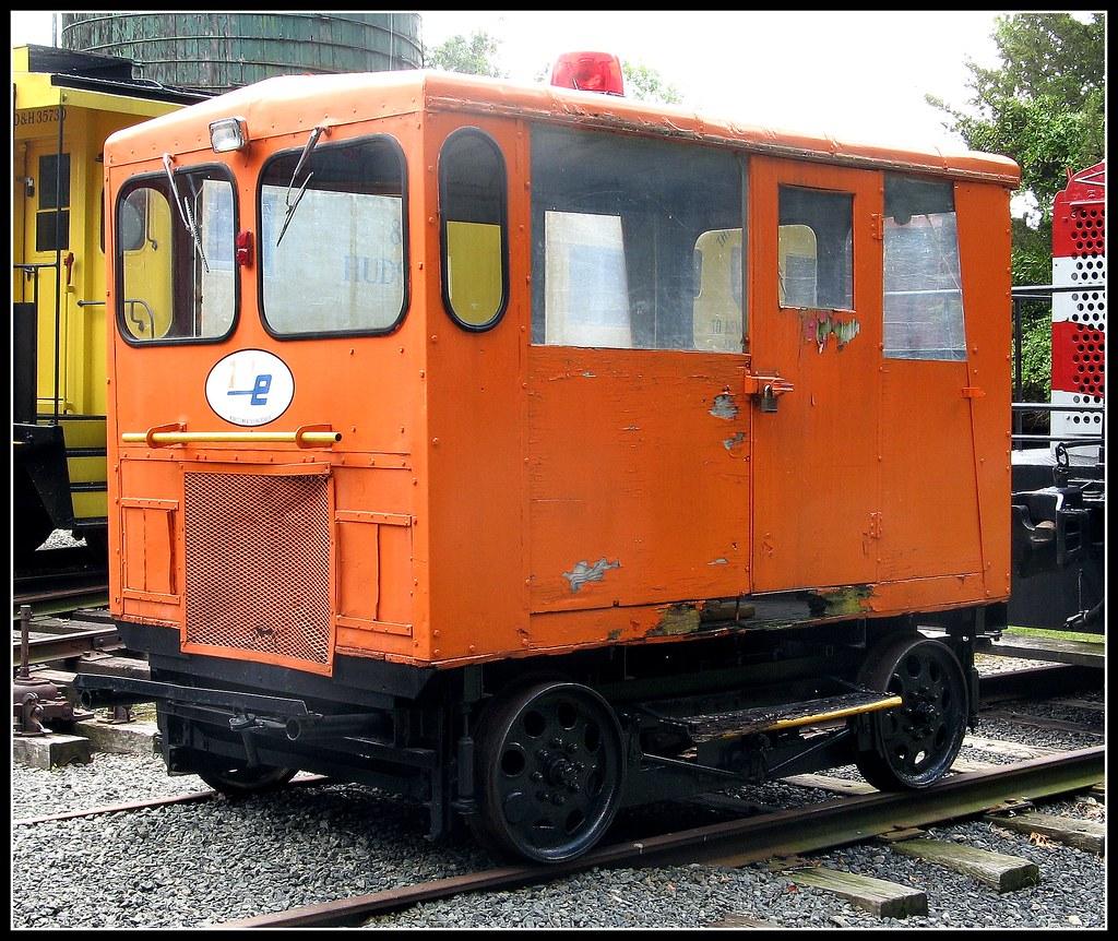 Orange Gang Car Whippany RR Museum NJ