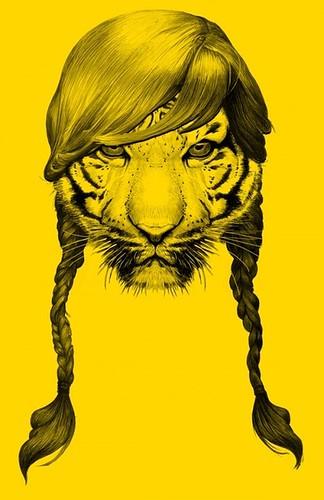 tiger braids
