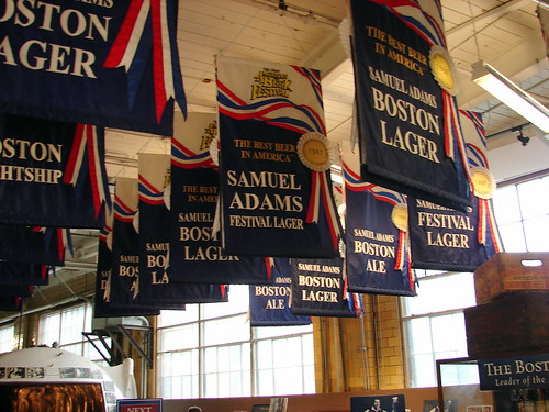 Some of Sam Adams many awards