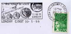 11 AOÛT 1999 / ECLIPSE TOTALE DU SOLEIL / LONGWY