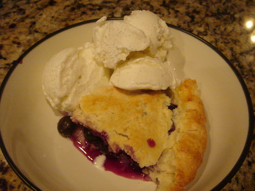 pie and ice cream