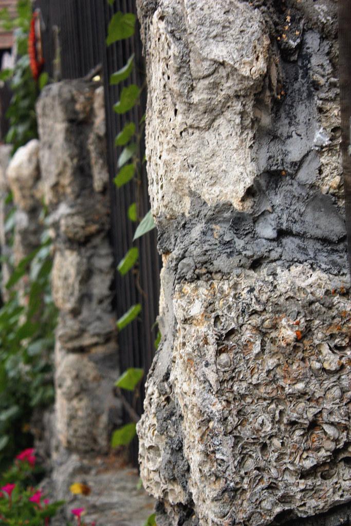 rocky fence