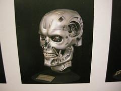 Box Art, pic of finished M1 T2 (luvsdaheat) Tags: model garage vinyl kit terminator t2 the endoskeleton endoskull