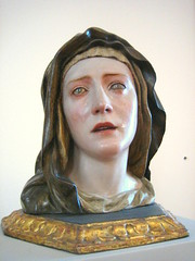 Our Lady of Sorrows, 1670 - 75, Spain - Bodemuseum, Berlin (noriko.stardust) Tags: life old portrait sculpture berlin art museum religious gallery image antique live madonna mary icon medieval christian bust christianity middle virginmary ages bodemuesum