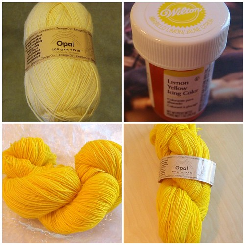 I Need Yellow Sock Yarn