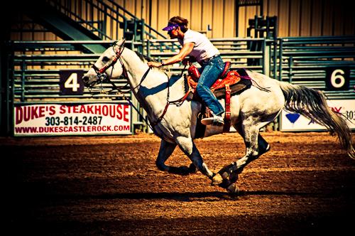 Mile Hi Barrel Horse