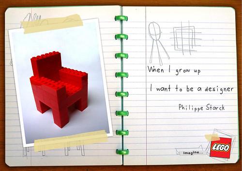 Lego Philippe Starck