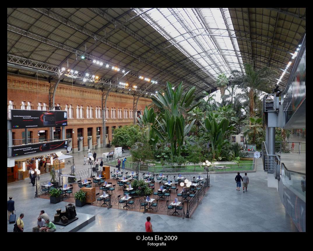 Interior Estación RENFE Atocha I