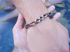L'oxydation du bracelet en argent
