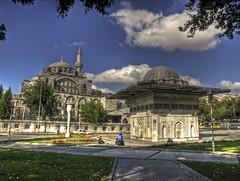 Kl Ali Paa Complex, Istanbul (Nejdet Duzen) Tags: trip travel history architecture turkey trkiye istanbul mosque ottoman complex camii tophane seyahat osmanl sebil tarih klalipaa ottomanstyle mederese kilicalipasa