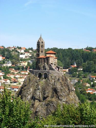 Capela de Saint Michel d'Aiguilhe, Le Puy, França