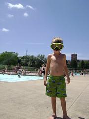 DSC05974 (-mirandak) Tags: summer cute love pool swim brother goggles adorable rawr sharks xander