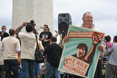 Concert against racial profiling