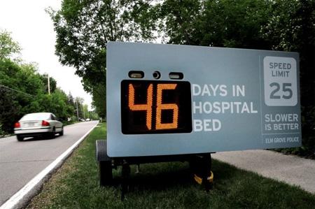 slower is better - interactive bilboard