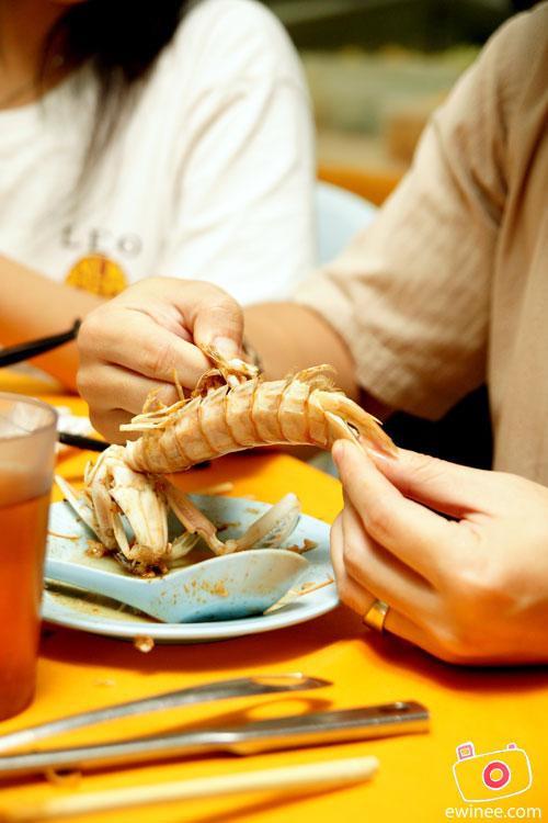 Yuen's-prawn king