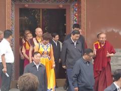 Le vice-président chinois Xi Jinping à Hohhot