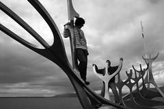 Roverway 09 Iceland (270) - Barco vikingo