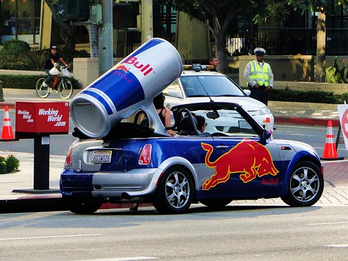 Red Bull Mini Cooper A Photo On Flickriver