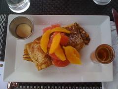 Star Anise Citrus Crepe (kozyndan) Tags: food orange toronto canada fruit breakfast cuisine crepe brunch grapefruit citrus iphone staranise schoolbakeryandcafe
