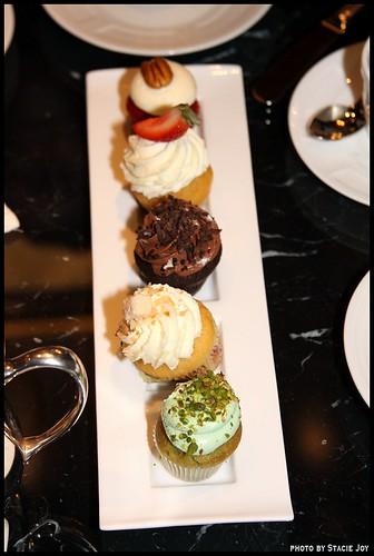 Cupcake Tea at the Ritz