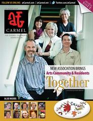 The cover of the October Carmel Community Newsletter.