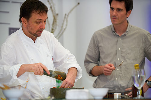 David Thompson and Newley Purnell, World Gourmet Festival, Four Seasons, Bangkok