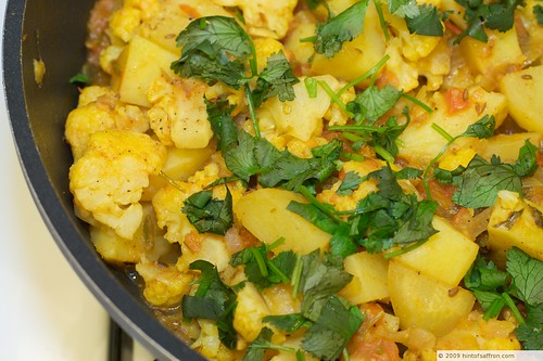 Cumin Spiced Potato Cauliflower