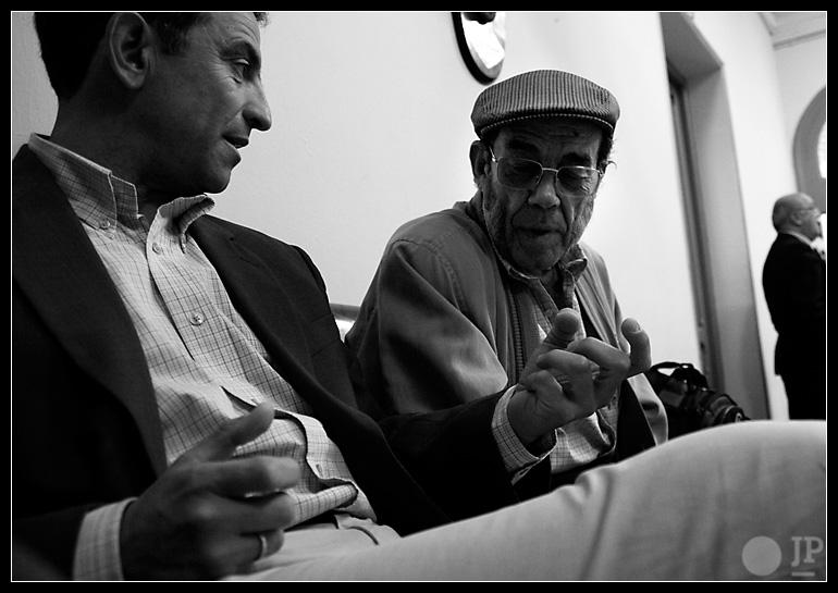 Luis Miguel Campano y César Palacios