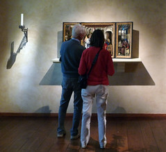 Merode Altarpiece with Viewers