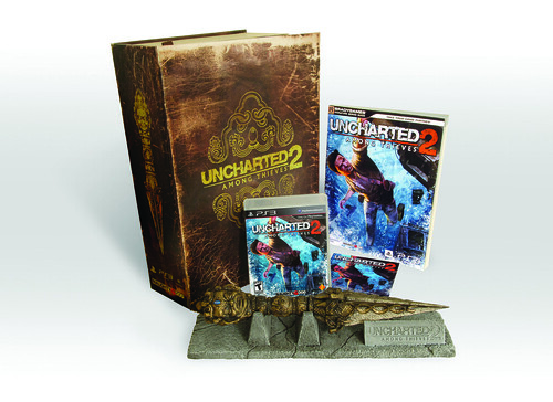 UNCHARTED 2 Fortune Hunter Edition w/ Guide