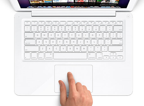 Apple MacBook trackpad unibody