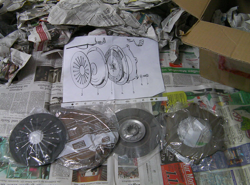 My Isetta Parts -Clutch- (October.20.2009)