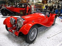 Jaguar SS 100 (pilot_micha) Tags: deutschland germany badenwürttemberg sinsheim museum automuseum technikmuseum autoundtechnikmuseum autotechnikmuseumsinsheim halle2 oldtimer auto car jaguar jaguarss100 baujahr1938 d