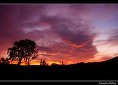 Atardecer en Caravaca (Antonio Carrillo (Ancalop)) Tags: sunset espaa canon atardecer spain murcia cielo caravaca caravacadelacruz ancalop