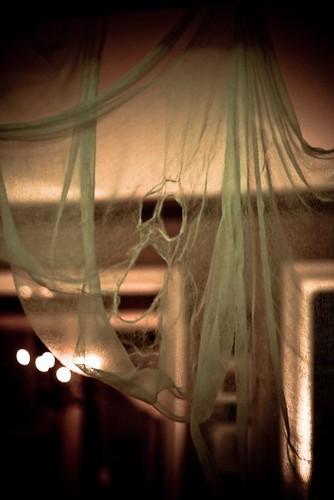 Ghostly Apparition in Cheesecloth