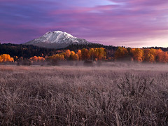 Mt. Adams Sunrise (Konejita) Tags: washington olympus pacificnorthwest mtadams zuiko troutlake e30 impressedbeauty 1260mm christinaangquico