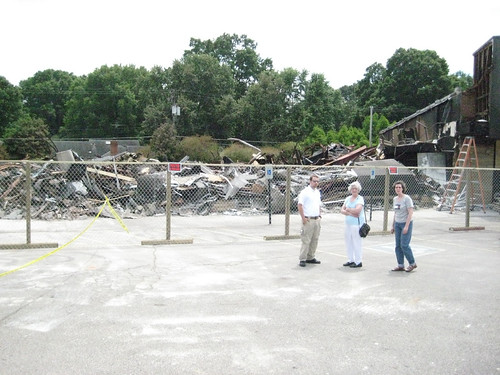 My fabric store burned down :(