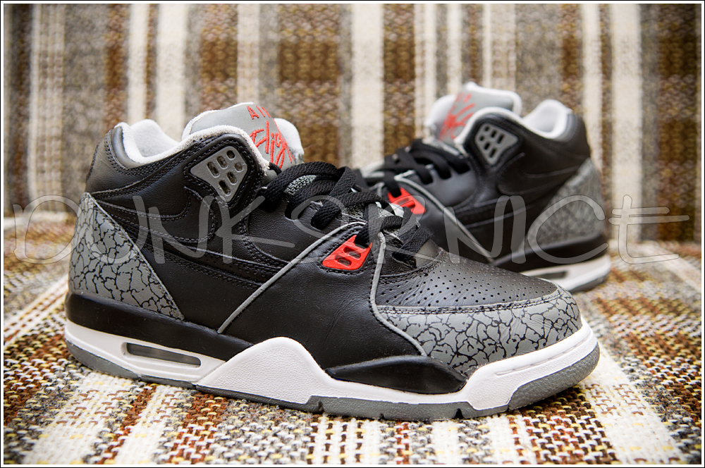 Poorman Black Cement Flight 89 Scrapped Customs(Done by me)