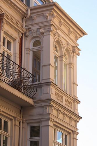 Erker und Balkon