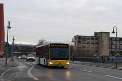 Mercedes Benz Citaro 2 CNG am Paula-Thiede-Ufer auf der Lini 140 nach S+U Tempelhof (Hannes Eisenach) Tags: bus mb mercedes benz testbus berlin nahverkehr citaro 2 cng erdgas berliner verkehrsbetriebe bvg