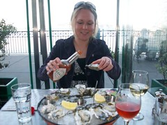 Shooting Raw Oysters on the San Francisco Bay (cozmo54901) Tags: sanfrancisco california bay oysters