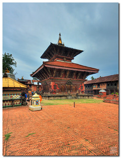 From flickr.com/photos/7236858@N07/3566057331/: Nepal - Changu Narayan