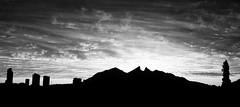 DSC_4175-Edit-2 (Deus Ex Camera) Tags: bw naturaleza mountains nature sunrise blackwhite skies amanecer cielos monterrey sanpedro montañas cerrodelasilla montaas