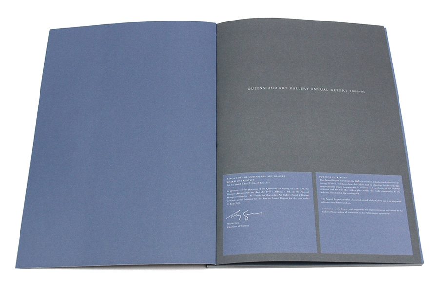 Studio Pounce - Queensland Art Gallery - Annual Report 2002