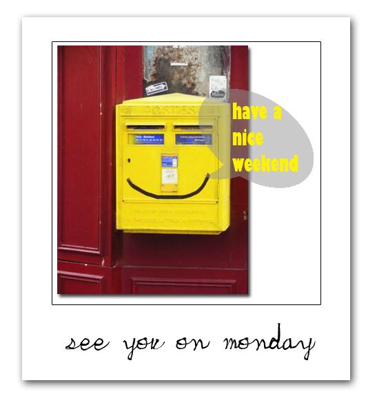 smiling postbox