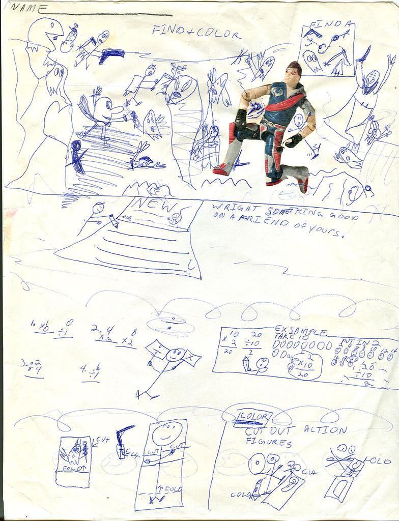 ☺☻..tOkKid - Find & Color activity sheet :: Super Pac-man vs. Xamot (( 198X- ?! )) ☻☺