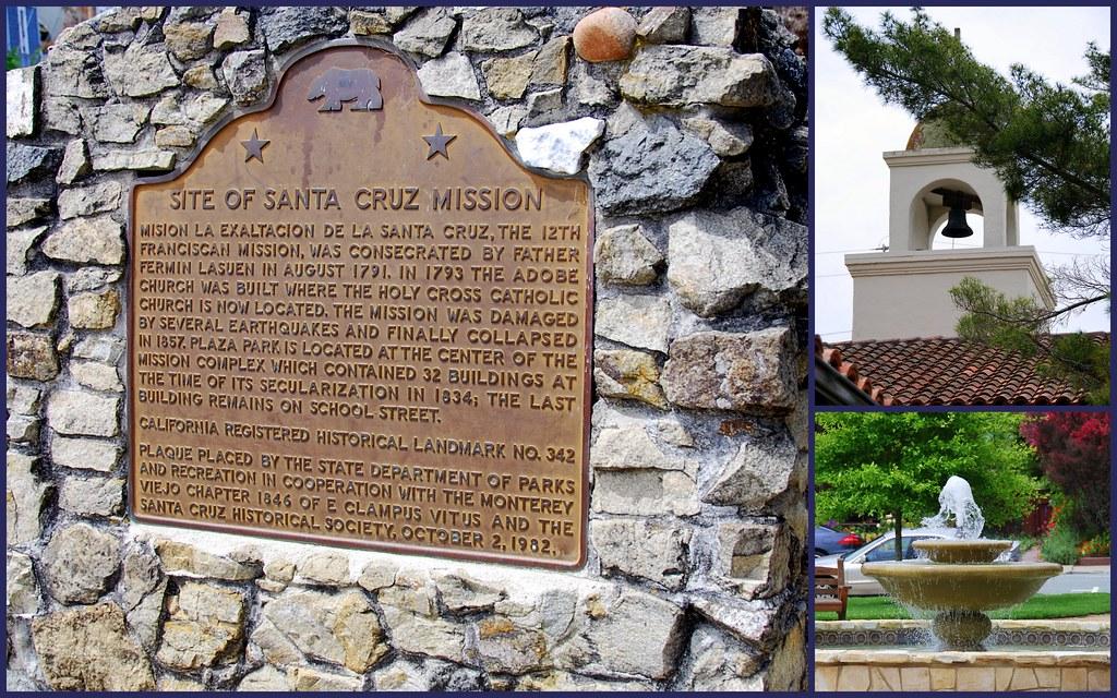 Santa Cruz Mission, California