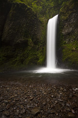 Weisendanger Falls (Will Shieh) Tags: summer vacation green tourism nature water beautiful oregon forest river portland outdoors waterfall moss spring pacific northwest hiking scenic columbia gorge wilderness sigma1020mm weisendangerfalls wondersofnature canonxsi willshieh