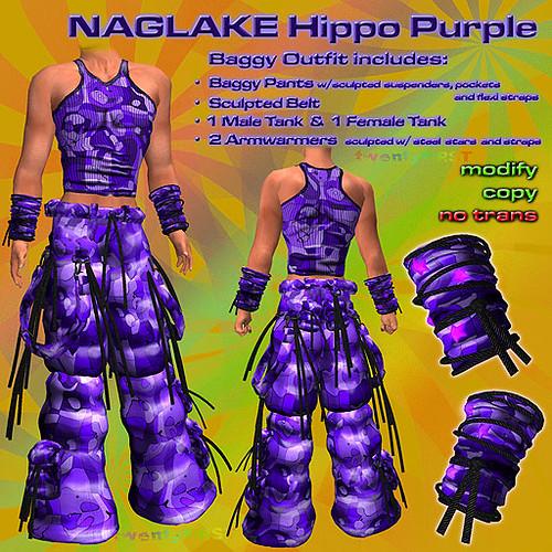 NAGLAKE Hippo Purple