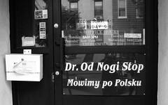 odnogi (krzysztof.poluchowicz) Tags: new york brooklyn md error dr polish we stop doctor po mistake gothamist greenpoint speak od orthopedist nogi polsku mowimy